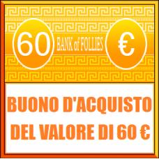 Buono Acquisto del Valore di 60 euro