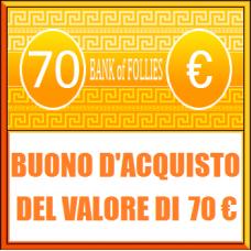Buono Acquisto del Valore di 70 euro