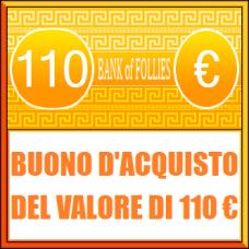 Buono Acquisto del Valore di 110 euro