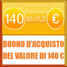 Buono Acquisto del Valore di 140 euro