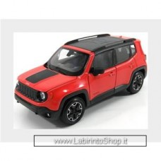 Welly 2017 Jeep Renegade Trailhawk, orange 1/24