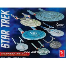Star Trek U.S.S. Enterprise Box Set – Snap Assembly