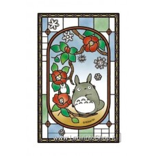 My Neighbor Totoro Art Crystal Jigsaw Puzzle Blooming Camellia