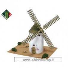 1255 Mulino de La Mancha - Aedes Ars Kit di Modellismo in Ceramica