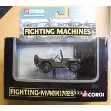 Corgi Fighting Machines Willys Jeep