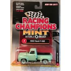 Racing Champions Mint - 1953 Ford F-100 Green