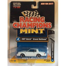 Racing Champions Mint - 1987 Buick Grand National White