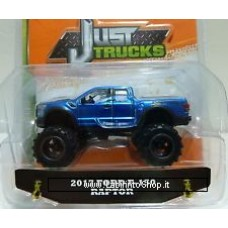 Jada - Die Cast Metals - Just Truck 2017 Ford F-150 Raptor Blue 1/64