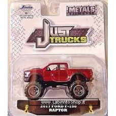 Jada - Die Cast Metals - Just Truck 2017 Ford F-150 Raptor Red