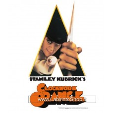 A Clockwork Orange Knife Tin Sign