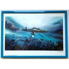 Star Trek Art Print The Escape 42 x 30 cm
