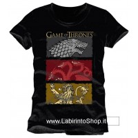 Game of Thrones T-Shirt The Houses Of The King