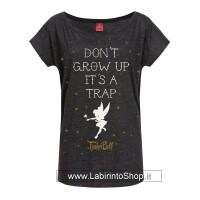 Disney Ladies T-Shirt Don't Grow Up