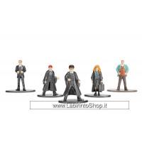 Harry Potter Nano Metalfigs Diecast Mini Figures 5-Pack Set A 4 cm
