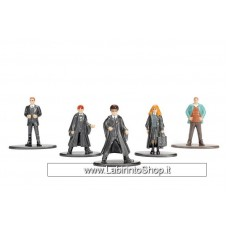 Harry Potter Nano Metalfigs Diecast Mini Figures 5-Pack Set A 4 cm