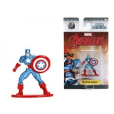 Marvel Comics Nano Metalfigs Diecast Mini Figures 4 cm Captain America