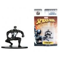 Marvel Comics Nano Metalfigs Diecast Mini Figures 4 cm Black Costume Spider-man