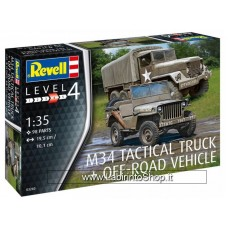 Revell 1/35 M34 Tactical Truck + Off-Road Vehicle 03260