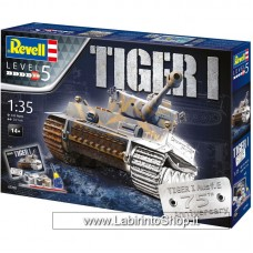 Revell 05790 - 75th Anniversary Tiger 1 Tank Model Gift Set Including Paints GL 1/35