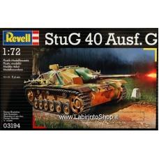 Revell 03194 Stug 40 Ausf. G Plastic Model Kit 1/72