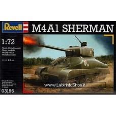 Revell 03196 M4A1 Sherman Plastic Model Kit 1/72
