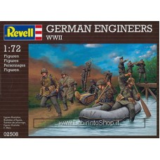 Revell 02508 German Engineers WWII Plastic Model Kit 1/72