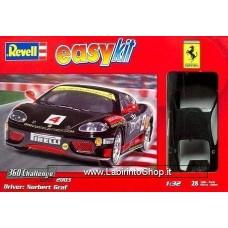 Revell 07137 Ferrari 360 Challenge easykit Plastic Model Kit 1/32