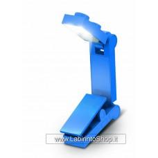 Lego Led Book Light blue