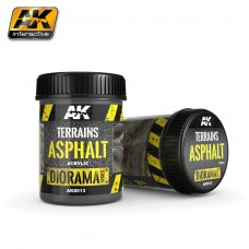 AK Interactive Ak8013 Terrains Asphalt 250ML