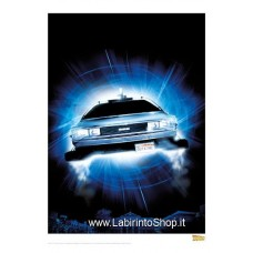 Back to the Future Art Print Night Front 42 x 30 cm
