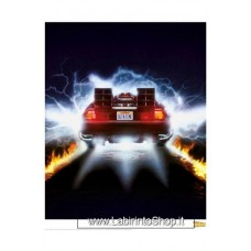 Back to the Future Art Print Rear View 35 x 28 cm
