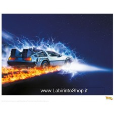 Back to the Future II Art Print 88 35 x 28 cm