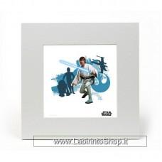 Star Wars Art Print Luke 20 x 20 cm