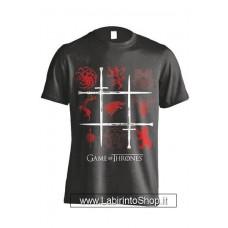 Game of Thrones T-Shirt Sigils Swords