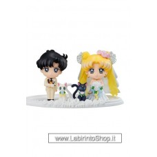Sailor Moon Petit Chara Mini Figure 4 Set Happy Wedding 6 cm