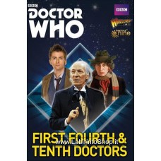 Doctor Who 1st, 4th and 10th Doctors