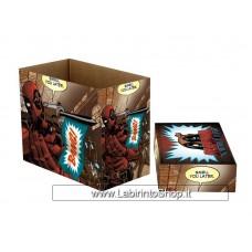 Marvel Comics Short Comic Book Storage Box: Deadpool Bang