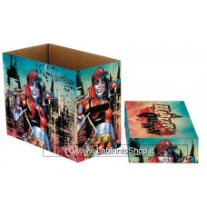 Dc Comics Harley Quinn Gotham Comic Storage Box