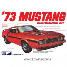 AMT 1/25 1973 Ford Mustang Plastic Model Car Kit (MPC846)