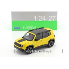 Welly Jeep Renegade Trailhawk Construction year 2016 yellow
