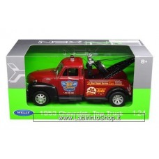 Welly 1953 Chevrolet Tow Truck Red 1/24 Diecast Model