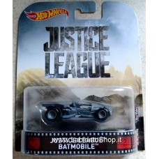 Hot Wheels 1:64 Retro Entertainment Justice League Batmobile