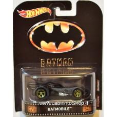 Hot Wheels 1:64 Retro Entertainment Batmobile