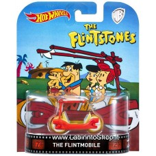 Hot Wheels 1:64 Retro Entertainment The Flintmobile (The Flintstone)