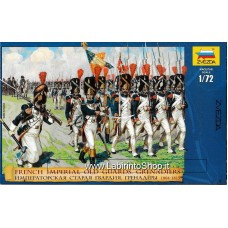 Zvesda 8030 1:72 - French Imperial Old Guards Grenadiers