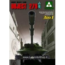 Takom 1:35 Soviet Heavy Tank Object 279 3 in 1 - Plastic Model Kit