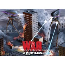 Pegasus Hobbies 9006 War of the Worlds Tripod's Attack 1/350