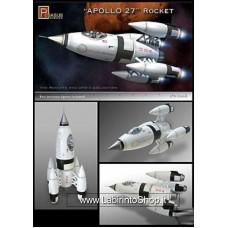 Pegasus Hobbies 9101 1/72 Apollo 27 Rocket - Plastic Model