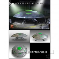 Pegasus 9100 Area 51 UFO AE-341.15B Plastic Model Space Kit