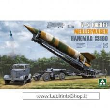 Takom 2030 1/35 V-2 Rocket Meillerwagen Hanomag SS100